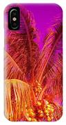 Cocnuts On Fire IPhone Case