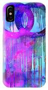 Coco Chanel Liquidated Logo Colorful IPhone Case
