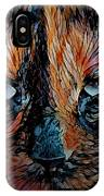 Coconut The Feral Cat IPhone Case