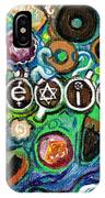 Coexisting With Coffee And Donuts IPhone Case