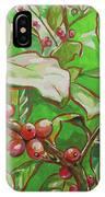 Coffee Cherries IPhone Case