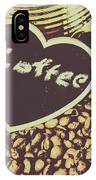 Coffee Heart IPhone Case