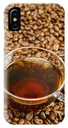 Coffee On Roasted Beans IPhone Case