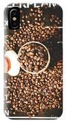 Coffee On The Menu IPhone X Case