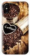 Coffee Shop Love IPhone X Case