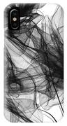 Coherence - Black And White Modern Art IPhone Case