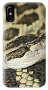 Coiled Rattlesnake IPhone Case
