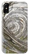 Coiled Razor Wire On Fence IPhone Case