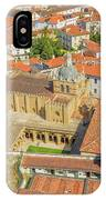 Coimbra Cathedral Aerial IPhone Case
