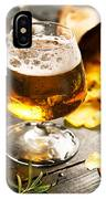 Cold Beer And Delicious Snacks IPhone Case