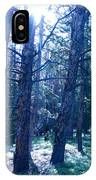 Cold Mountain Light IPhone Case