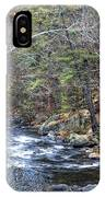 Cold Mountain Stream IPhone Case