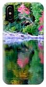 Cold Spring Harbor Reflections IPhone Case