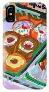 Coligny Donuts IPhone Case