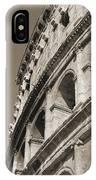 Coliseum Bw IPhone Case
