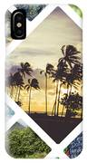Collage Of Hawaii  IPhone Case