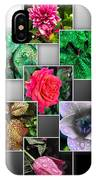 Collage Of Spring Flowers IPhone Case