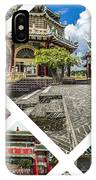 Collage Of Taoist Temple In Cebu, Philippines. IPhone Case