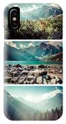 Collage Of Tatra Mountains  IPhone Case
