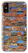 Collage Roof And Windows - The City S Eyes IPhone Case