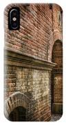 Colliding Walls IPhone Case
