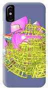 Colliding Worlds IPhone Case