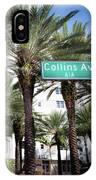 Collins Av A1a IPhone Case