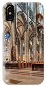 Cologne Cathedral Interior IPhone Case