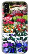 Cologne Flowers IPhone Case