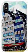 Cologne On The Rhine IPhone Case