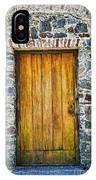 Colonia Old Door IPhone Case