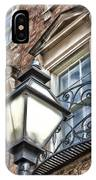 Colonial Lamp And Window IPhone Case