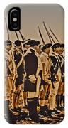 Colonial Soldiers On Parade IPhone Case