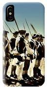 Colonial Soldiers Standing At Attention IPhone Case