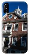Colony House Newport Rhode Island IPhone Case