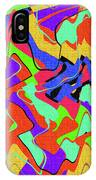 Color Drawing Abstract #3 IPhone Case