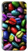 Color Full Coffe Beans IPhone Case