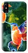 Color Me Humming IPhone Case