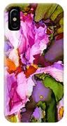 Color Me Iris IPhone Case