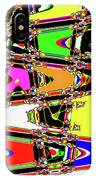 Color Wave Abstract IPhone Case