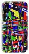 Color Works Abstract IPhone Case