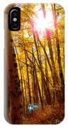 Colorado Aspen Gold 3 IPhone Case