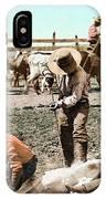 Colorado: Branding Calves IPhone Case
