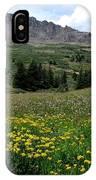 Colorado Wildflower Spectrum IPhone Case