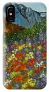 Colorado Wildflowers IPhone Case