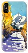 Colorado Winter 1 IPhone Case