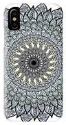 Colored Flower Zentangle IPhone Case