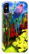Colored Glass Plants IPhone Case