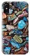 Colored Polished Stones IPhone Case
