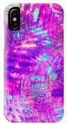 Colorful Abstract Palm Leaves 3 IPhone Case